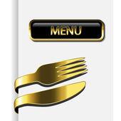 Vector restaurant menu — Stockvector