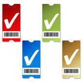 矢量的价格标签 — 图库矢量图片
