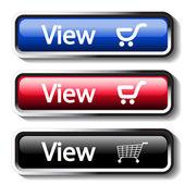 Vector set of shop buttons — Stock Vector