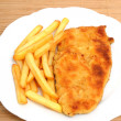 Royalty-Free Stock Photo: Schnitzel