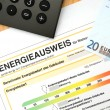 Energy performance certificate — Stock Photo #11699315