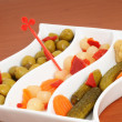 Mixed pickles — Stock Photo