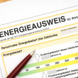 Energy performance certificate — Stock Photo #11741119