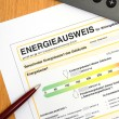 Energy performance certificate — Stock Photo #11741120