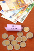 Euro-coins — Stock Photo