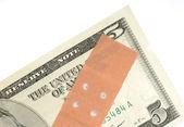 Slabost měny — Stock fotografie