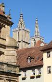 St.-jakobs-kirche rothenburg ob der tauber — Stockfoto