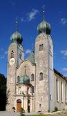 Mosteiro de baumburg na baviera foi fundado em 1107-09 pelos agostinianos — Foto Stock