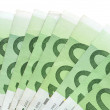 Euro-Banknotes — Stock Photo