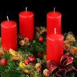 Advent wreath — Stock Photo #11983572