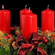 Stok fotoğraf: Advent wreath