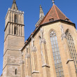 St. Jakobs Kirche Rothenburg ob der Tauber — Stock Photo