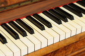 Old Piano — Stockfoto