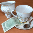Couple of dollars for tea — Stockfoto #11990538