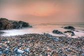 Skály a pobřeží — Stock fotografie