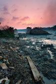 Abandoned the stone bridge — Photo