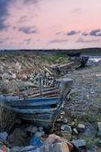 放棄とボート — ストック写真