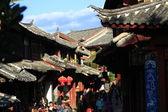 Lijiang ancient city building — Stock Photo