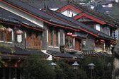 A cidade antiga de lijiang edifício — Foto Stock
