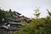 The old town of lijiang building — Stock Photo