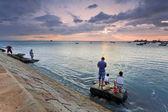 许多钓鱼 — 图库照片