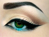 Eye make-up — Foto Stock