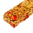 Royalty-Free Stock Photo: Muesli bar with strawberries