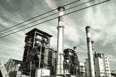 Grey Factory — Stock Photo
