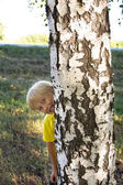 Child hid — Stock Photo