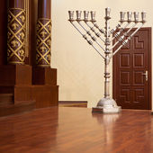 Hanukkah Candle holder — Stock Photo