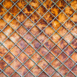 Old rusty fence background — Stockfoto #11645390