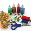 Craft assortment — Stock Photo