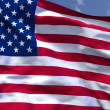 USflag — Stock Photo #11743120