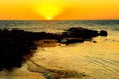 Sunset in Madagascar — Foto de Stock