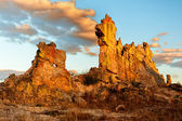 Double rock in Madagascar — Stock Photo
