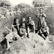Stock Photo: Group of Madagascar children