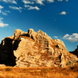 Madagascar rock in front of the sky - Stock Photo