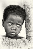 A Benin little girl poses — Stock Photo