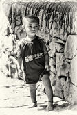 Cute Ethiopian little boy — Stock Photo
