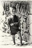 Cute Ethiopian little boy — Foto de Stock