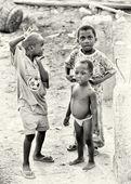 三个加纳男孩 — 图库照片