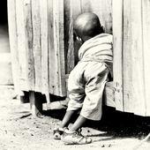 Ганский ребенок мальчик — Стоковое фото