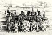ганский барабанщиков — Стоковое фото