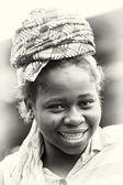 乐观女人来自加纳的画像 — 图库照片