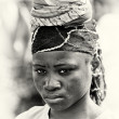 Ghanaisad girl — Stock Photo #11961589