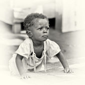 Little baby boy frim Ghana — Stock Photo