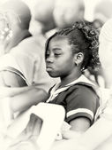 A young pupil from Ghana — Stock Photo