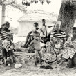 A Ghanaian tribe — Stock Photo