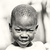 En ung pojke från ghana — Stockfoto