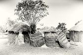 Domy v ghaně — Stock fotografie